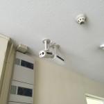 ビル内防犯カメラ設置