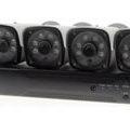 HDカメラ4台、録画機器、HDDオールインワンセット